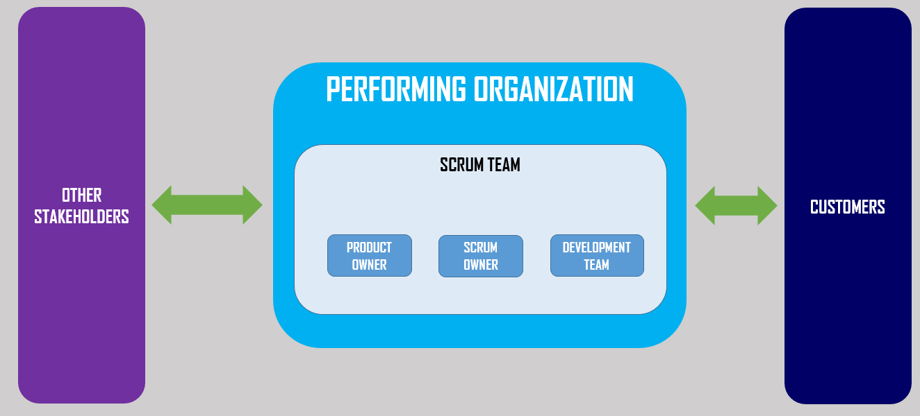 External Scrum Project Model